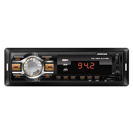 Rádio Hurricane FM/USB HR 412 4x18W