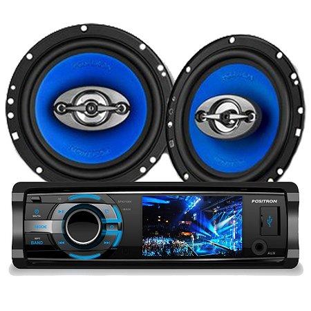 DVD Player Positron SP4310 + Alto Falante APQ-6960