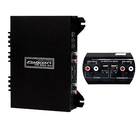 Módulo Amplificador Falcon HS960DXC 03 Canais 400WRMS 2 OHMS