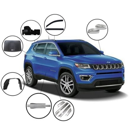 Kit de Acessórios Jeep Compass A Partir de 2016