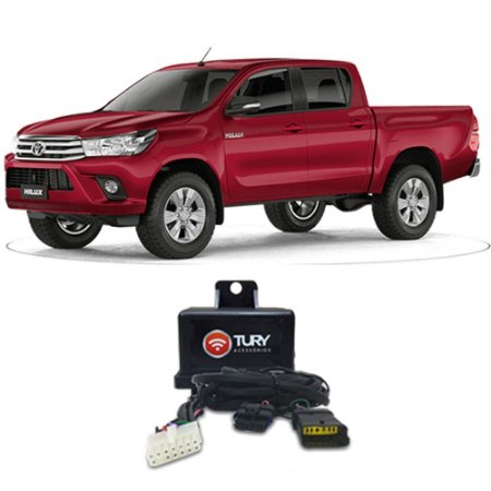 Módulo Engate Plug And Play Hilux A Partir 2016