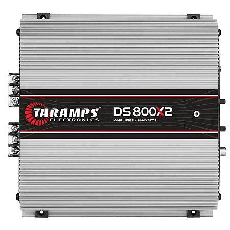 Módulo Amplificador DS-800X2 2 Canais 800W RMS 02 OHMS