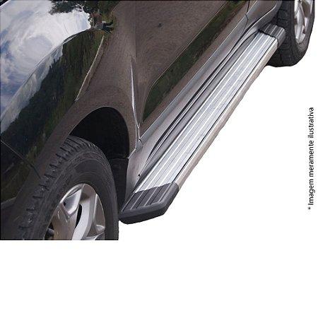 Estribo Bepo Ecosport 13 Alumínio Polido SUVII Com Fixação
