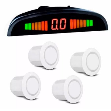 Sensor de Estacionamento Orbe - 4 Pontos Branco