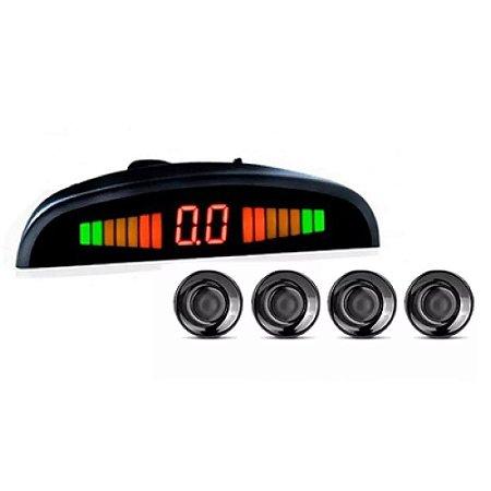 Sensor de Estacionamento Orbe - 4 Pontos Preto
