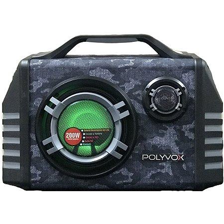 Caixa de Som Amplificada XM-350 Portátil Bluetooth 200 W