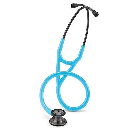 Estetoscópio Littmann 3M Cardiology IV - Turquesa Smoke