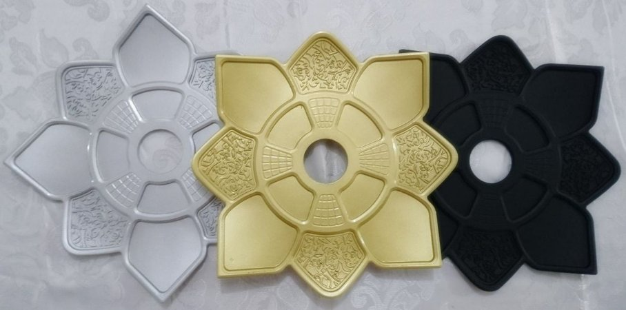 Prato Grande De Metal Para Narguile IMP