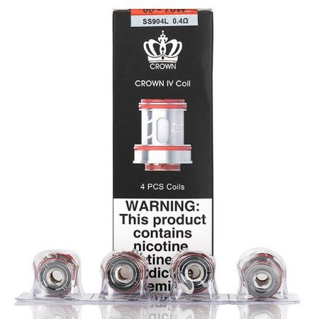 COIL UWELL CROWN IV DUAL SS904L 0.4