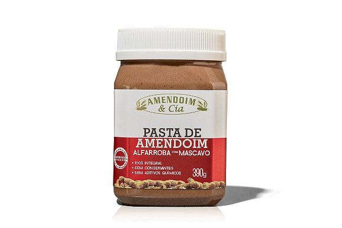 Pasta de Amendoim com Alfarroba e Mascavo- 390g