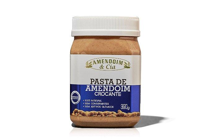 Pasta de Amendoim Crocante (sem adição de açúcar) - 390g