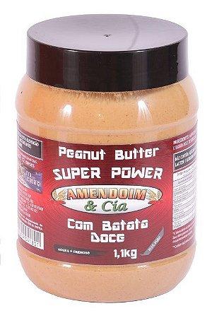 Creme de Amendoim com Batata Doce - 1,1Kg