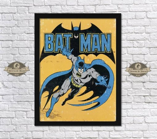 Poster Emoldurado – Batman