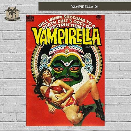 Vampirella Pôster A3