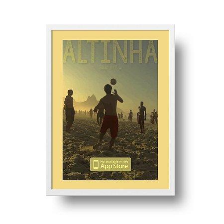 Quadro Poster Rio de Janeiro - Altinha