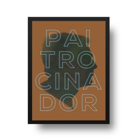 Quadro Poster para Pai - Paitrocinador