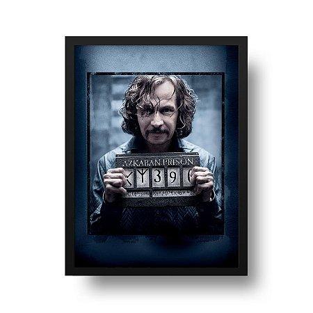 Quadro Poster Decorativo Cinema Filme Harry Potter - Sirius Wanted