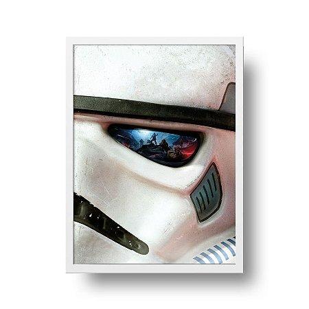 Quadro Poster Filme - Star Wars - Soldado