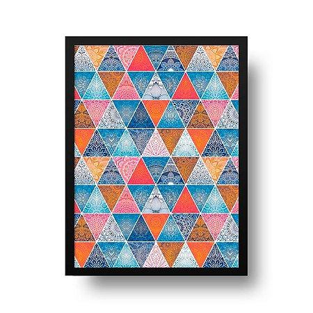 Quadro Poster Geométrico - Mandala