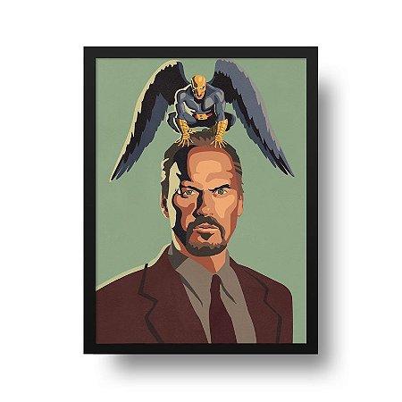 Quadro Poster Decorativo Cinema Filme Birdman - Minimalista