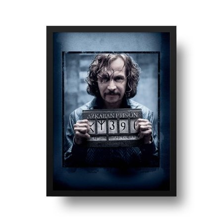 Quadro Decorativo Poster Cinema Filme Harry Potter - Sirius Wanted