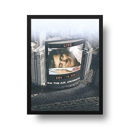 Quadro Poster Decorativo Filme Show de Truman - Jim Carrey