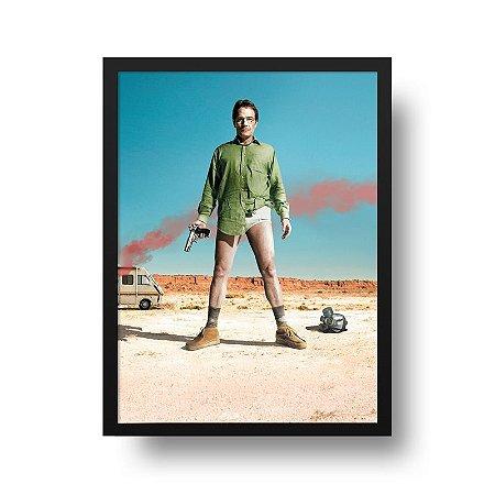 Quadro Poster Série - Breaking Bad - Walt