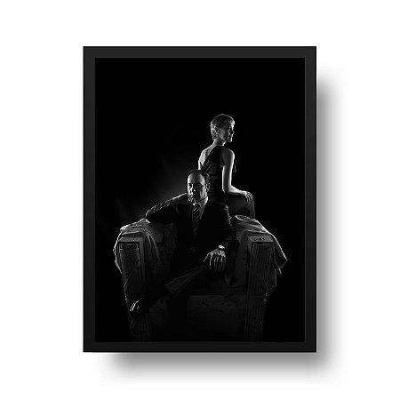Quadro Poster Série - House of Cards