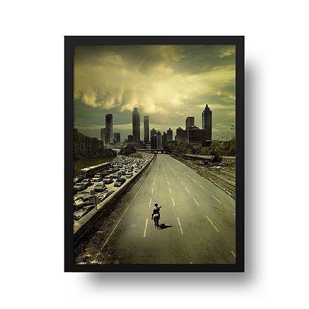 Quadro Poster Série - The Walking Dead
