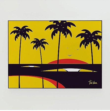 Quadro Decorativo Poster Big Swell Tom Veiga - Surf, Ondas, Praia