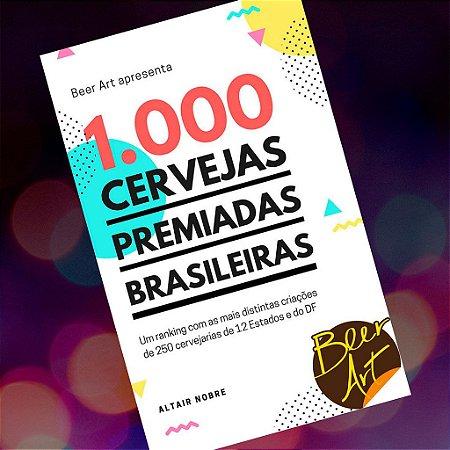 Destaque cervejaria 1/4 pg no Livro 1000 Cervejas Premiadas Brasileiras + 5 exemplares