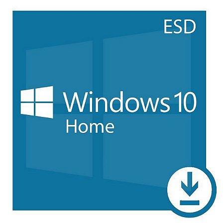 Microsoft Windows 10 Home 32/64 Bits Original + Nota Fiscal