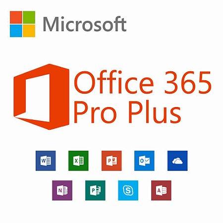Microsoft Office 365 Pro Plus 32/64 Bits Original + Nota Fiscal