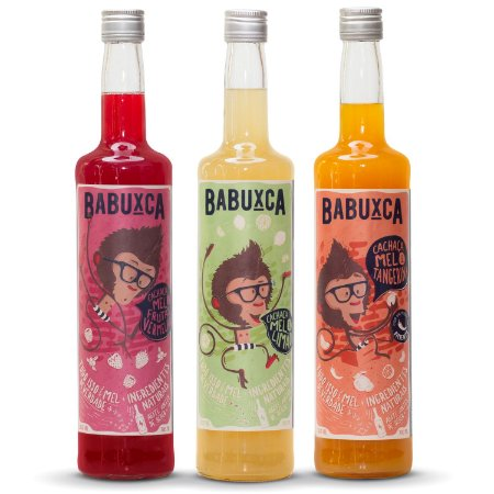 Kit Babuxca | 03 Sabores | 700ml