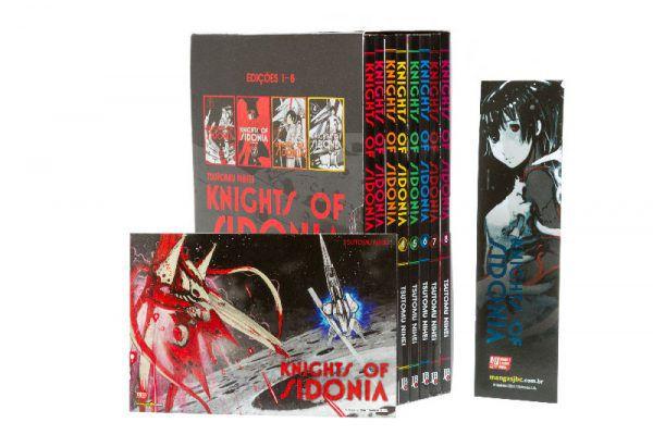 Box - Knights of Sidonia - Vol. 1 a 8
