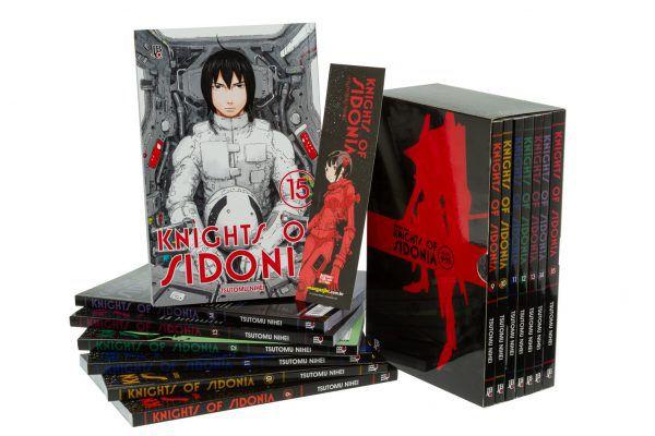 Box - Knights of Sidonia - Vol. 09 a 15
