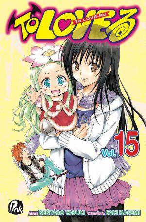 Pacote To Love-Ru - Volume 15 ao 17