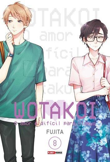 (SEBO) Wotakoi: O Amor é difícil para Otakus - 08  (LER A DESCRIÇÃO DO ANUNCIO)