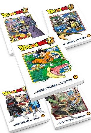 Pacote - Dragon Ball Super - Vol. 01 ao 05 [ Reimpressão 2021]