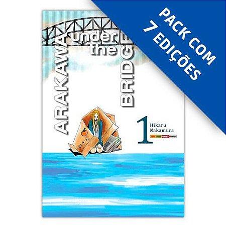 Pacote - Arakawa Under the Bridge - Pack 1 a 7