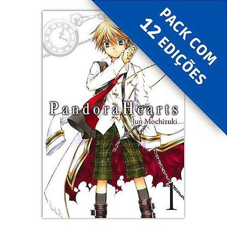 Pacote - Pandora Hearts - Pack com as edições 1 a 12