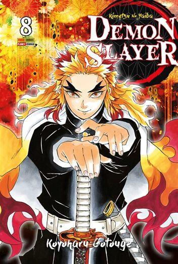 Pré Venda da Reimpressão - Demon Slayer: Kimetsu No Yaiba - Vol. 08