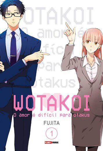 Wotakoi: O amor é difícil para Otakus - 01