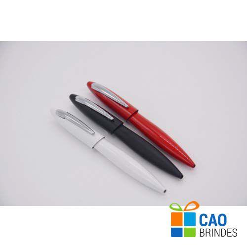 Caneta Esferográfica em Alumínio com Clip Plástico - 9901