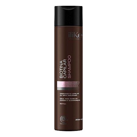 iLike Biotina Capilar Shampoo - 300ml