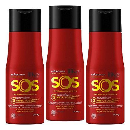 iLike SOS Antiemborrachamento - 3x 300ml