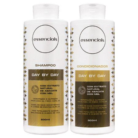 Essencials Kit Shampoo e Condicionador Day By Day - (2x800 ml)