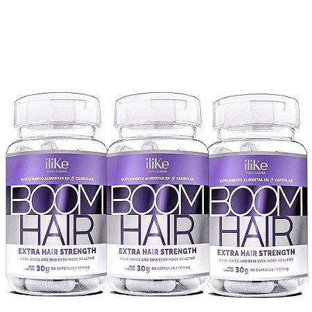 ILike Kit Boom Hair Rapunzel - Combo 3 Potes