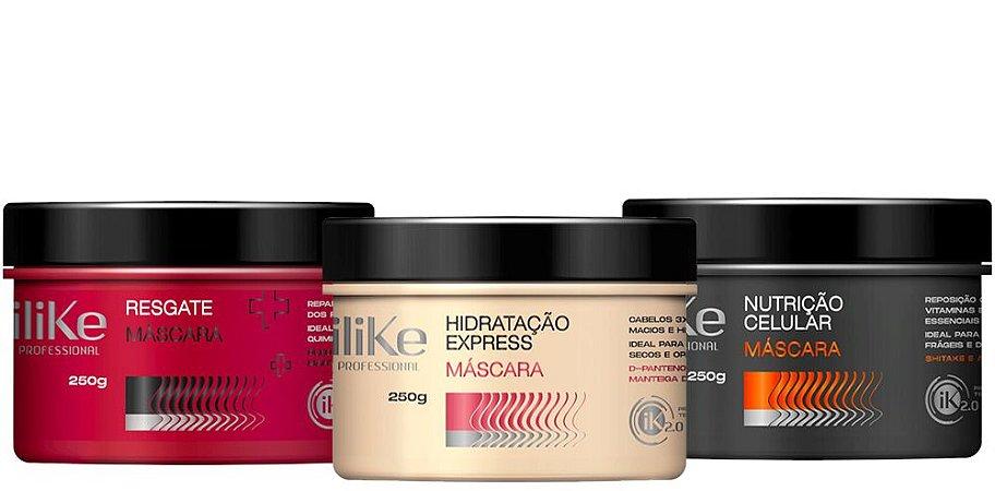 ILike Cronograma Capilar HNR Hidratação Intensa