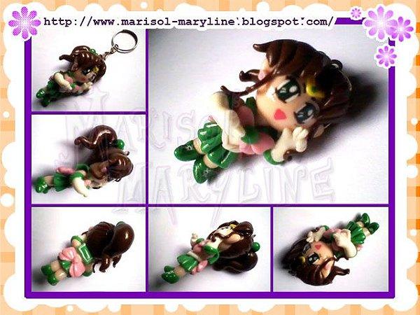 Chaveiro Sailor Jupter - Sailor Moon